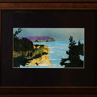 Painting Oregon Coast-10x6 by Frans Geerlings