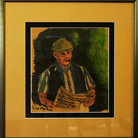 Painting Betting-Bookie-8x10 by Frans Geerlings