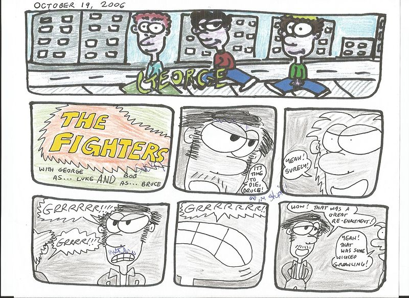 The Fighters 2 by Sam Meisner