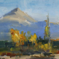 "Mt. Baldy, Silverthorne Colorado, 14"" x 11"" by Susan Horn"