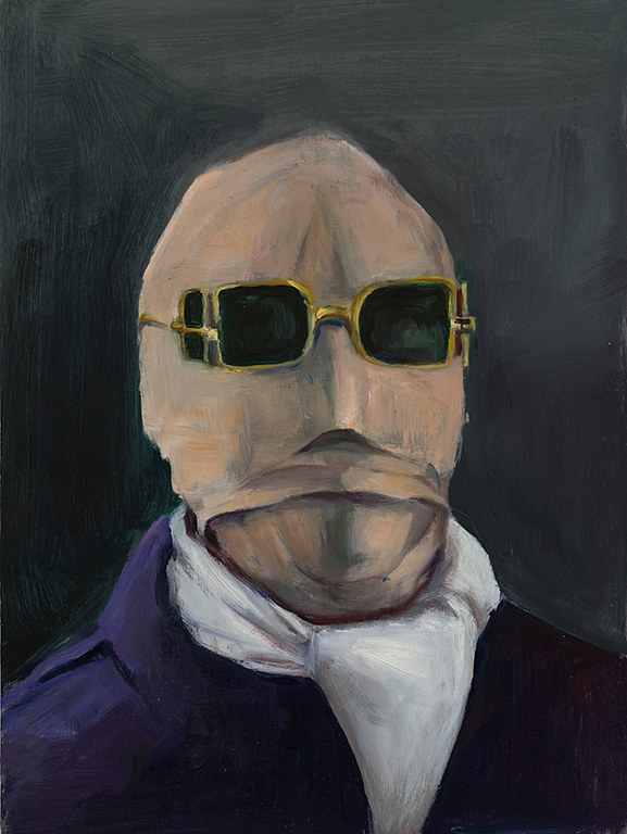 Oil painting The Invisible Man by Mary Hayes