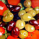 Oil painting Tomatoes-and-Olive-painting by Guntis Jansons