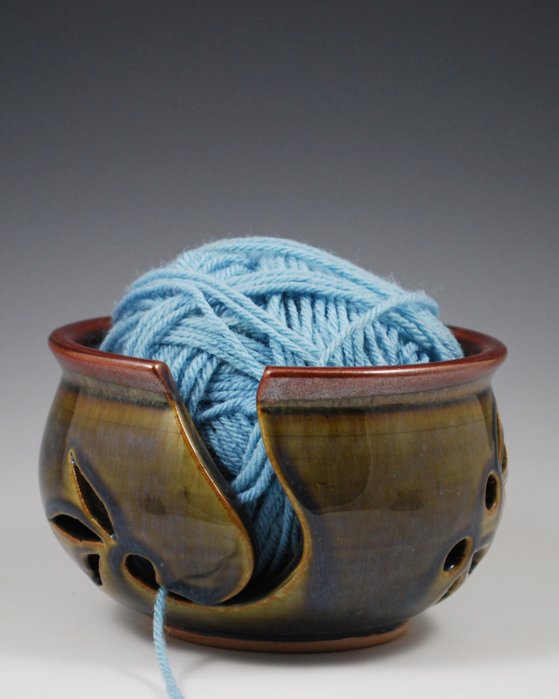 Yarn Bowl by Mark  Goertzen