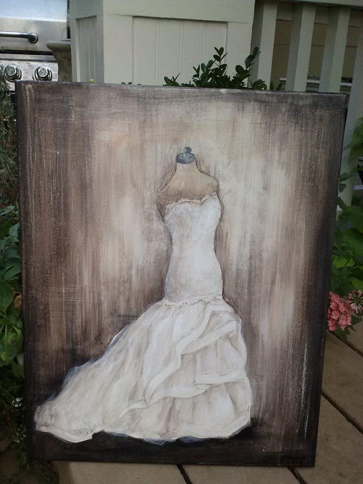 Custom Wedding Gown - Jodi Mellick - Artist