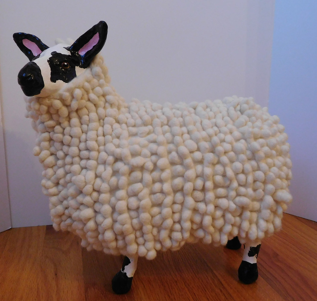 Drawing Nubby Sheep by Valerie Johnson