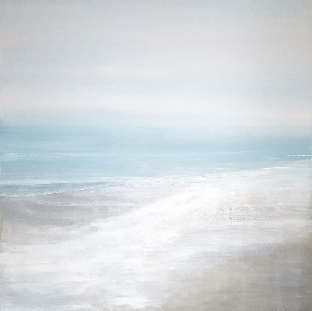 Acrylic painting Baltic Breeze by Laura Spring