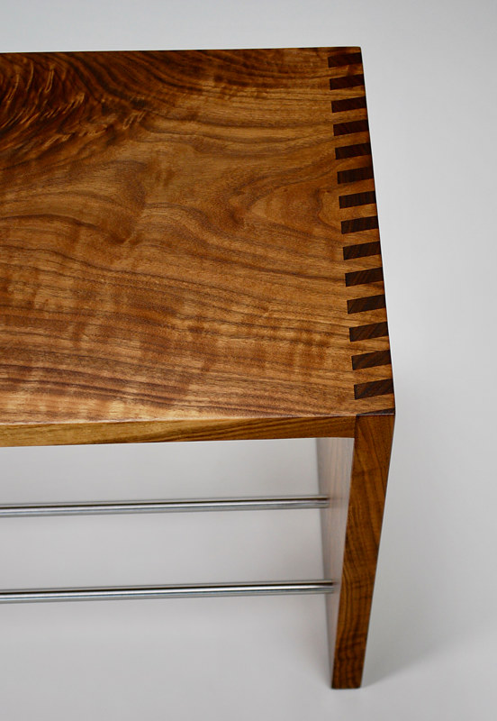 Angle Fingerjoint Bench Large by Enrique Morales
