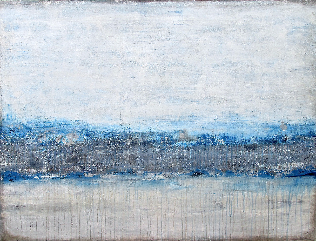 Acrylic painting North by Laura Spring
