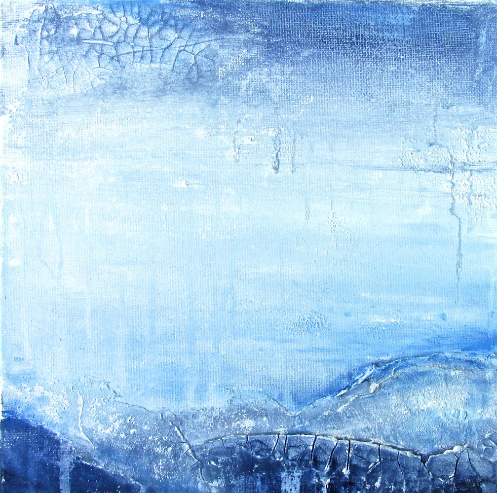 Acrylic painting The Winds of the North 1 by Laura Spring