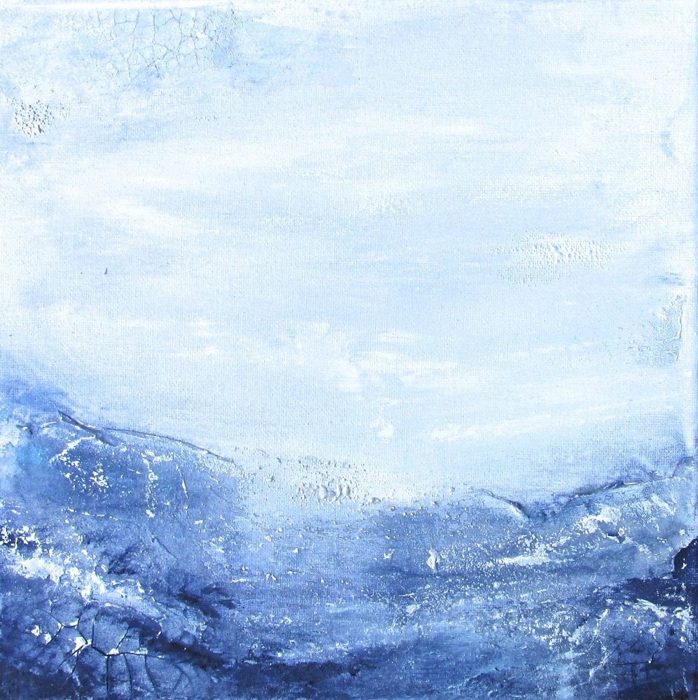 Acrylic painting The Winds of the North 2 by Laura Spring