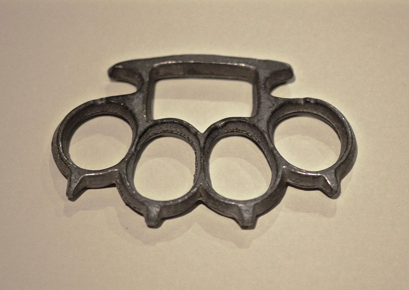 """Brass Knuckles Found on the Camp Grounds"" by Hunter Madsen"