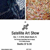 2016 DEC. 1-4: ART BASEL MIAMI (SATELLITE ART SHOW) PAINTINGS by John Turner