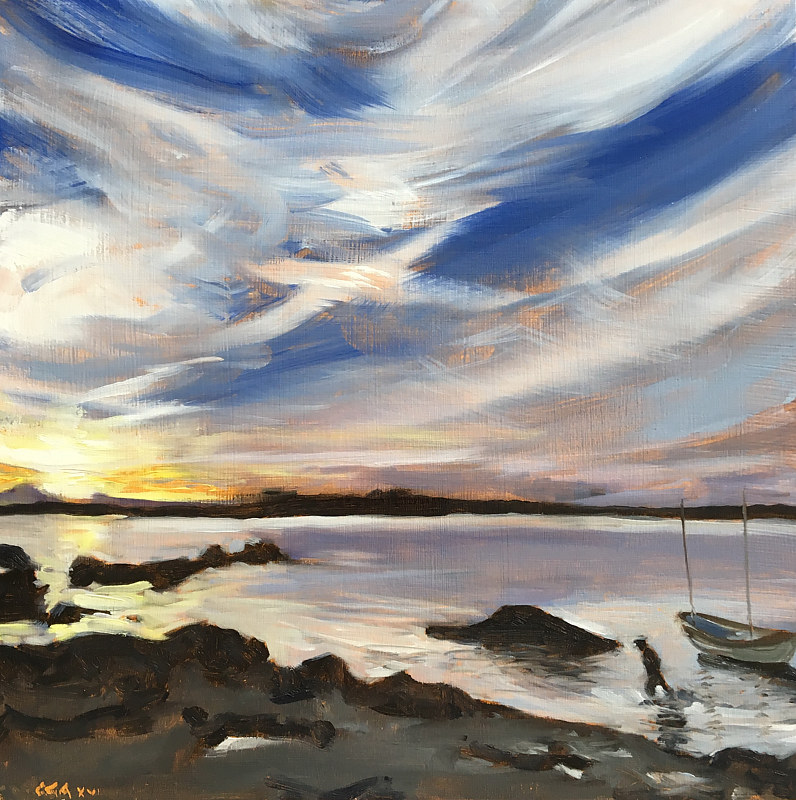 St Andrews Sky by Ginger Arthur