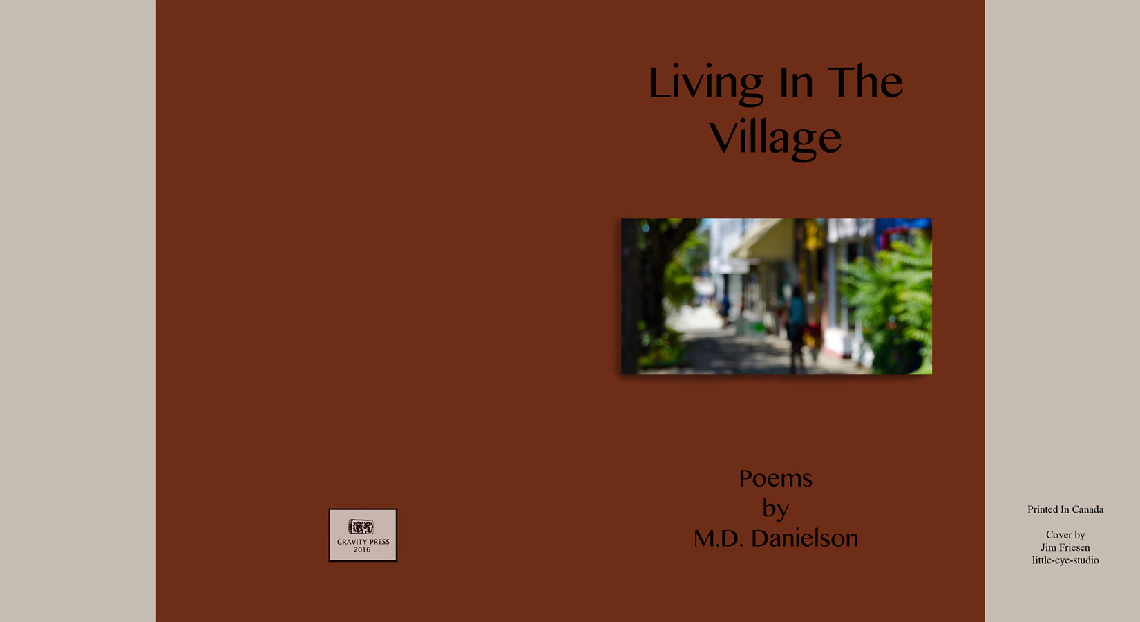 The Village Book Cover copy 4 by Jim Friesen