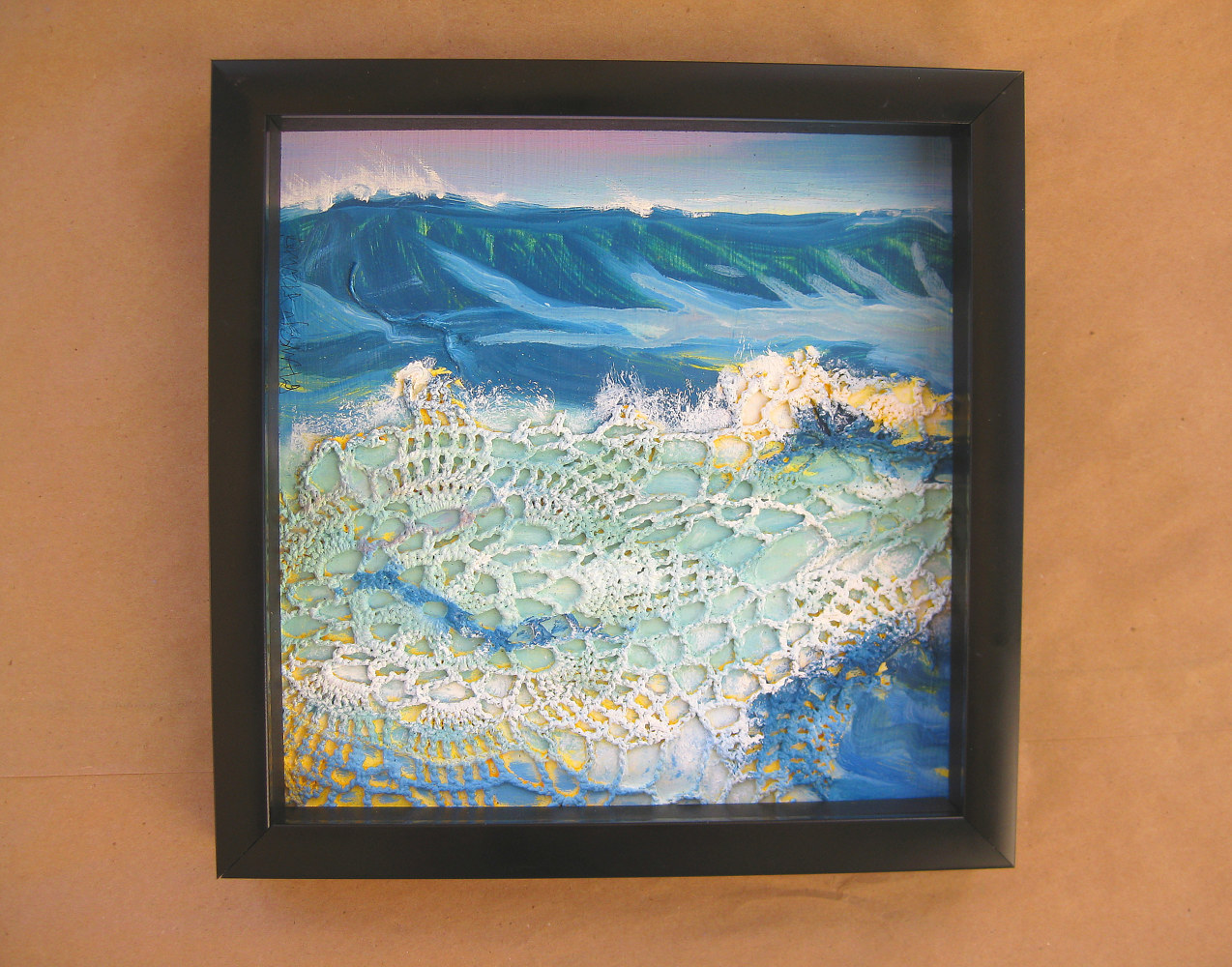 Oil painting Ho'okipa by Pamela Neswald