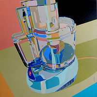 Acrylic painting Cuisinart by Reed Dixon