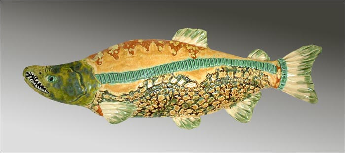 Salmon  by Cathy Crain