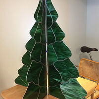 Christmas tree repaired by John Boyd