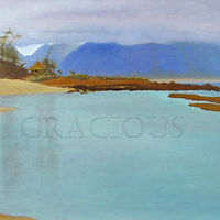 Oil painting Gratitude - Serenity Series by Pamela Neswald
