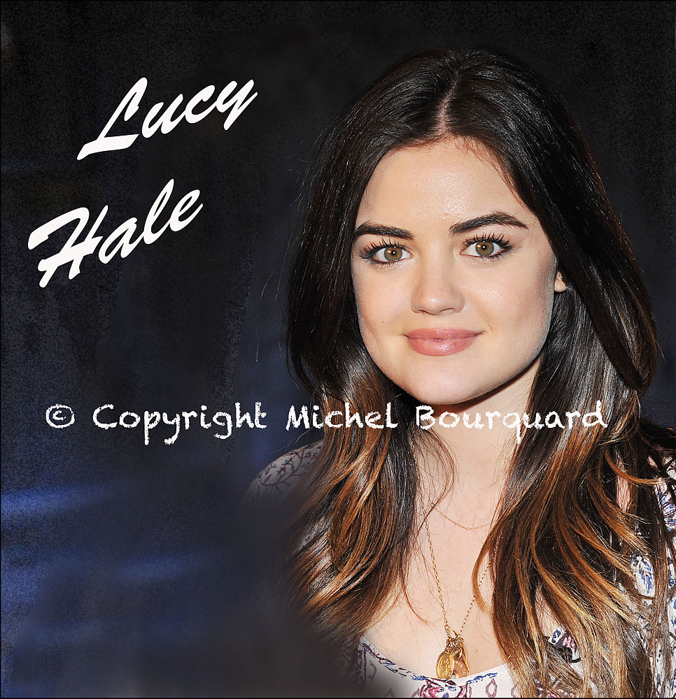 Lucy Hale  by Michel Bourquard