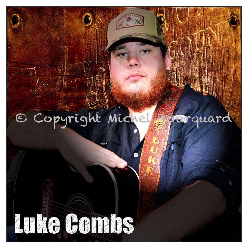 Luke Combs -cover by Michel Bourquard