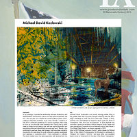 Memorable Artists 2015. Poets and Artists Magazine by Michael David  Kozlowski
