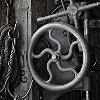 """Old Machinist's Shop"" by Hunter Madsen"