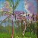 Oil painting Good Morning Hana by Pamela Neswald