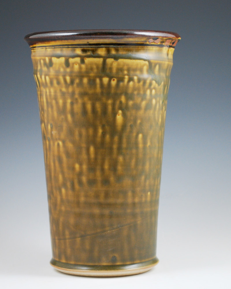 Honey Ash Wine Cooler with Chocolate Rim by Mark  Goertzen