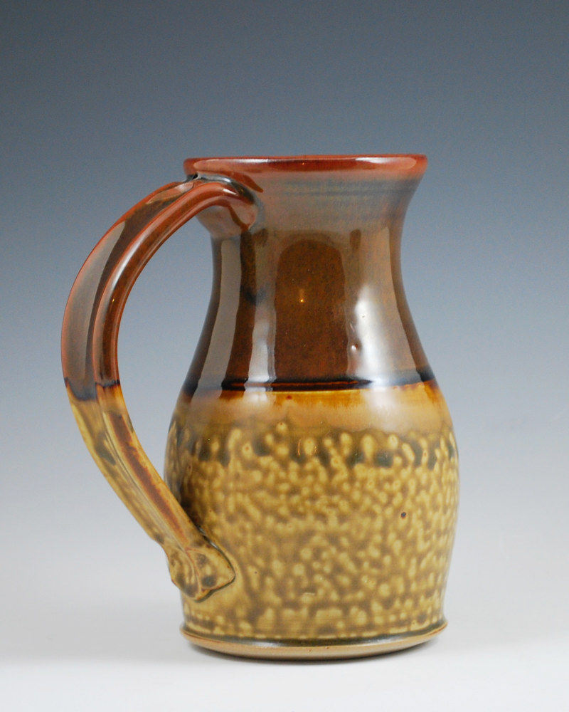 Honey Ash Marks Mug with Chocolate by Mark  Goertzen