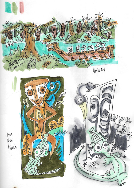 NOV DEC 2016 Sketchbook by Kenneth M Ruzic