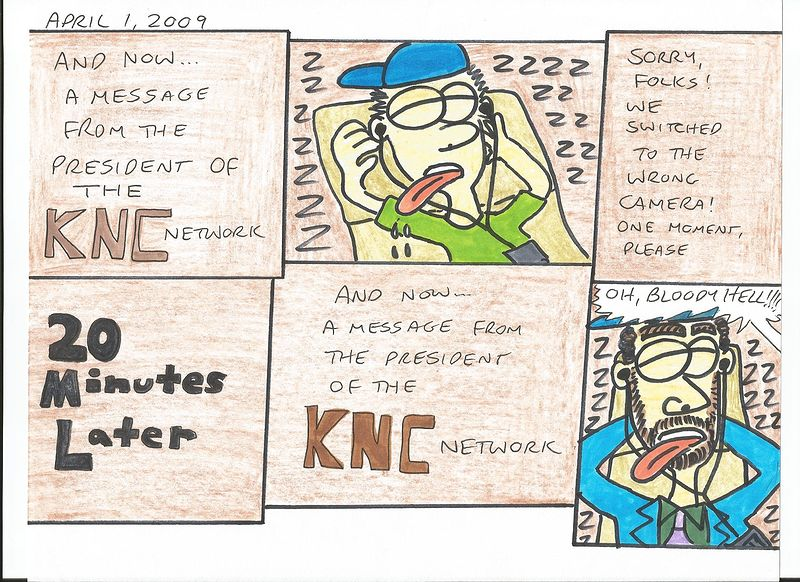 A Message From The President Of The KNC Network 1 by Sam Meisner