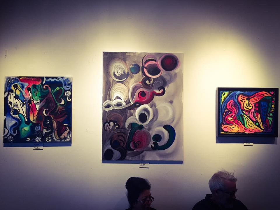 Art Wall-Lucid Dreams show by Ann Marie  Vancas