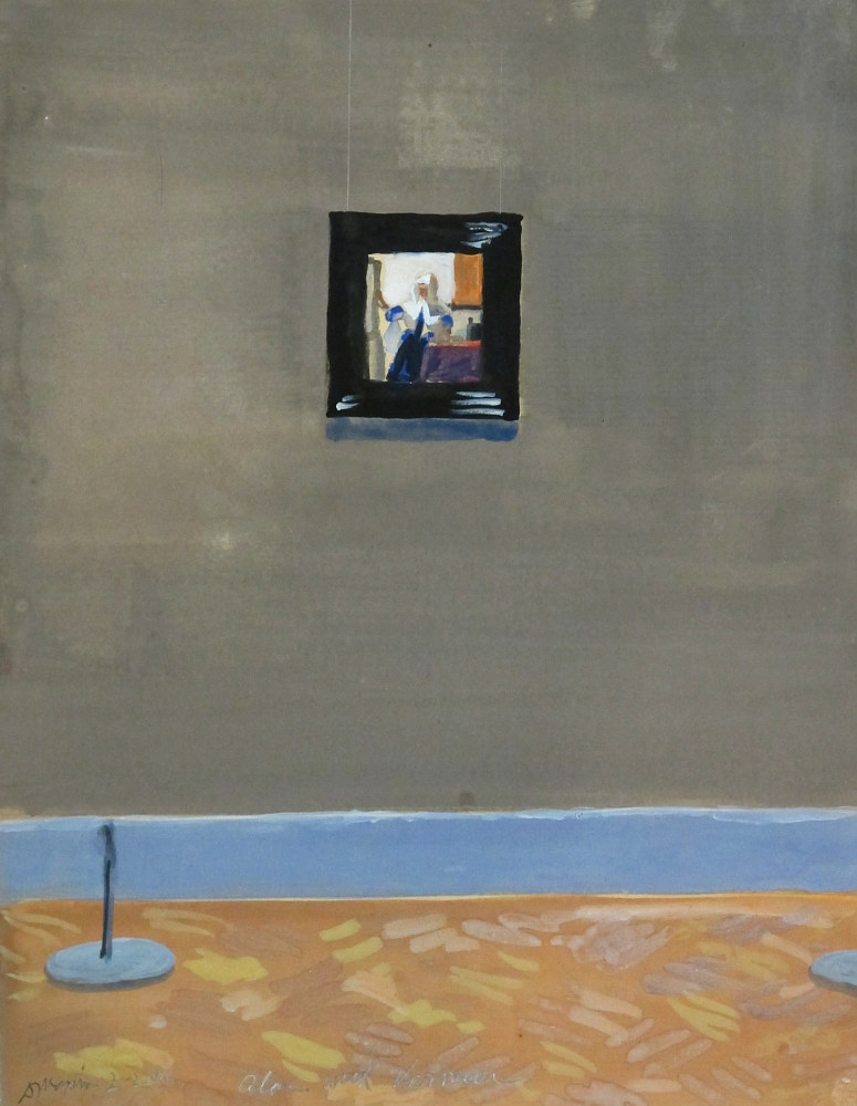 2016-31, Alone with Vermeer by David  Maxim