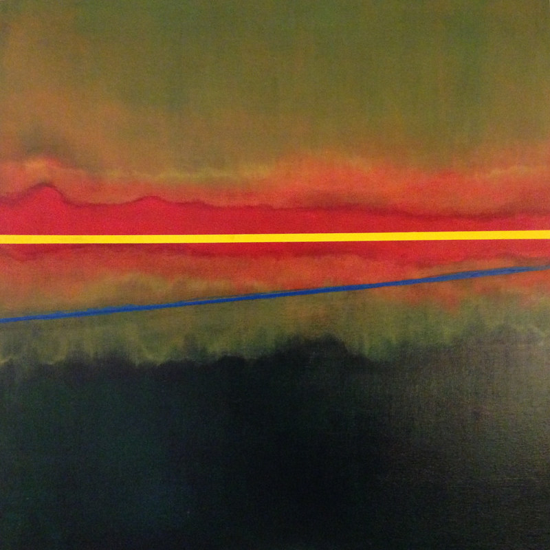 Acrylic painting Designer Sunrise by Timothy J Sullivan