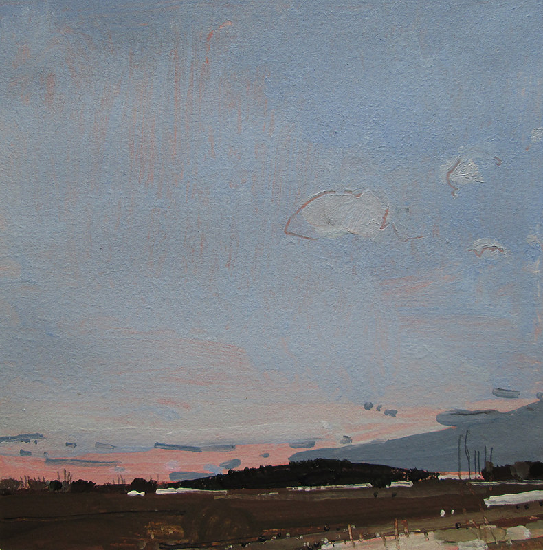 Acrylic painting Day End by Harry Stooshinoff
