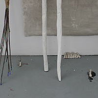 ceramic Studio View Banff / On tenter Hooks - 2014 by Tamara Rusnak