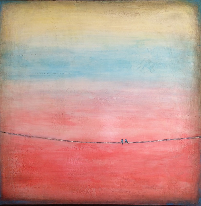 Acrylic painting Sailor's Delight II by Sally Adams