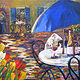 FrenchCafeKitty1 by Terry Cox-Joseph
