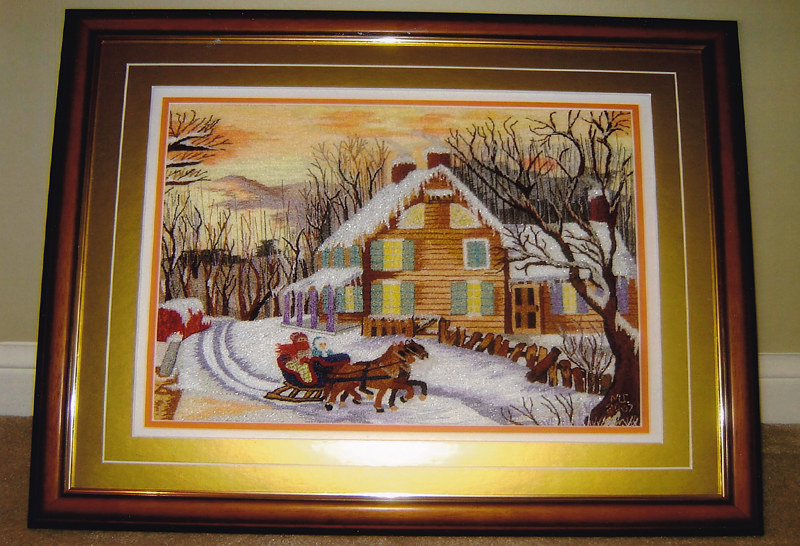 Sleigh Ride by Mary Lee Chisholm-morgan
