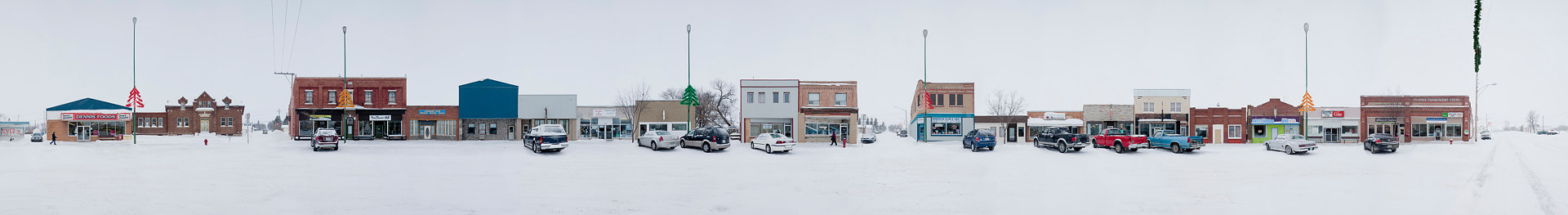 Canora Winter SK. 112X21.5   2014 by Danny Singer