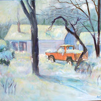 Snow Scene  by Don Moore