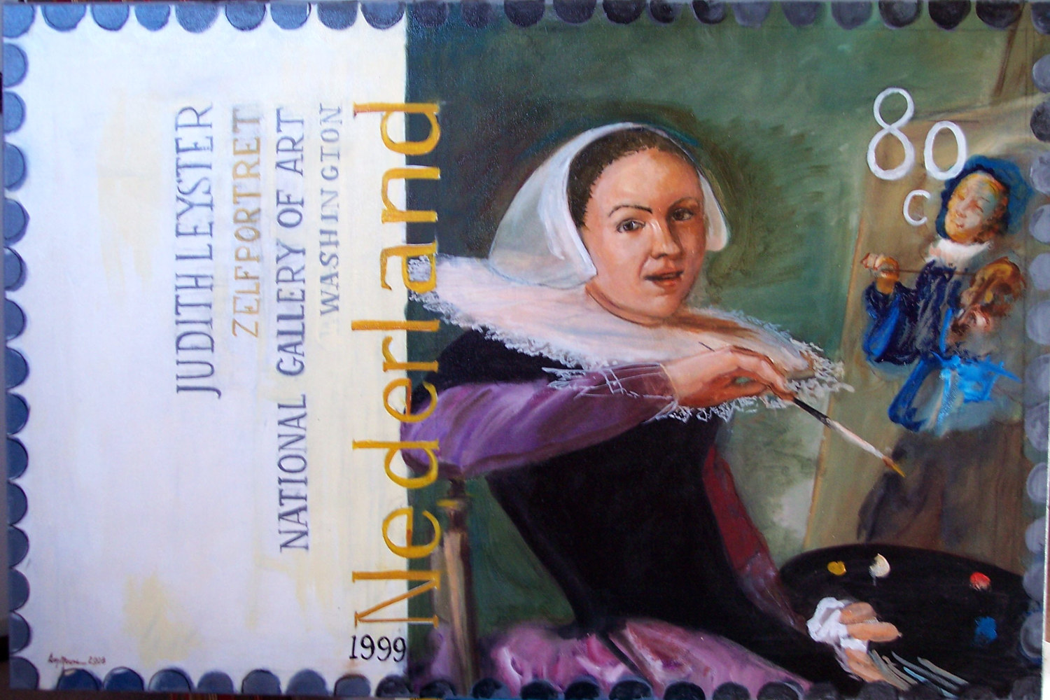 Judith Leyster by Don Moore