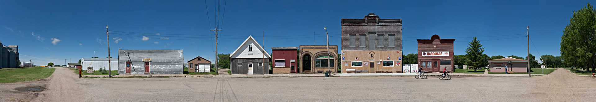 Skyston ND. 26X117 2012 by Danny Singer