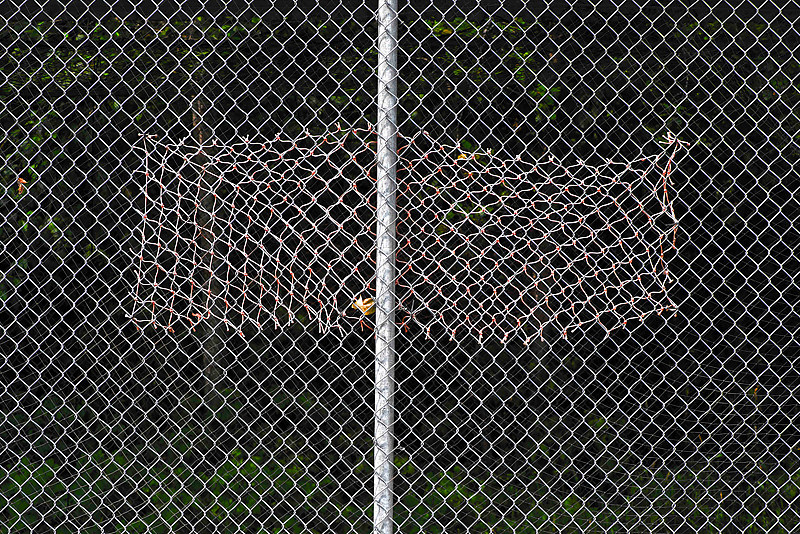 """Batting Cage, Canadian Playground"" by Hunter Madsen"
