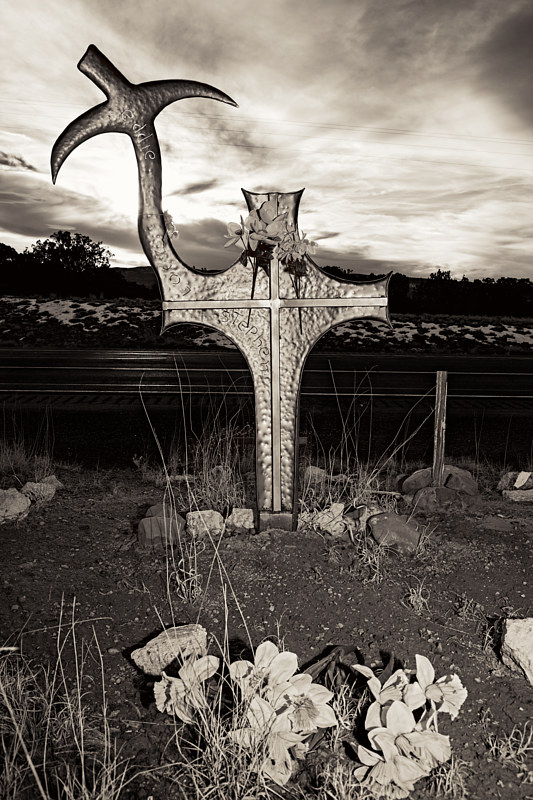 Eddie-Stephen-2007,-Hwy-360-East-of-San-Antonio,-NM-2016 by Jim Holbrook