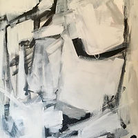 Acrylic painting Putting up Resistance by Sarah Trundle