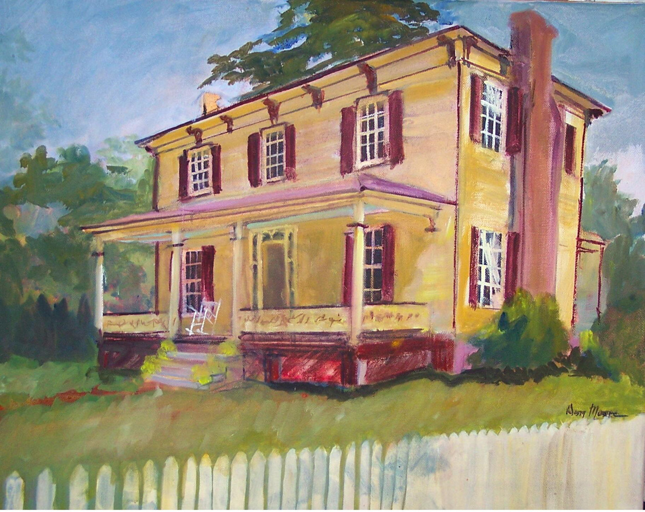 Civil War Home, Salisbury - 16 x 20 by Don Moore