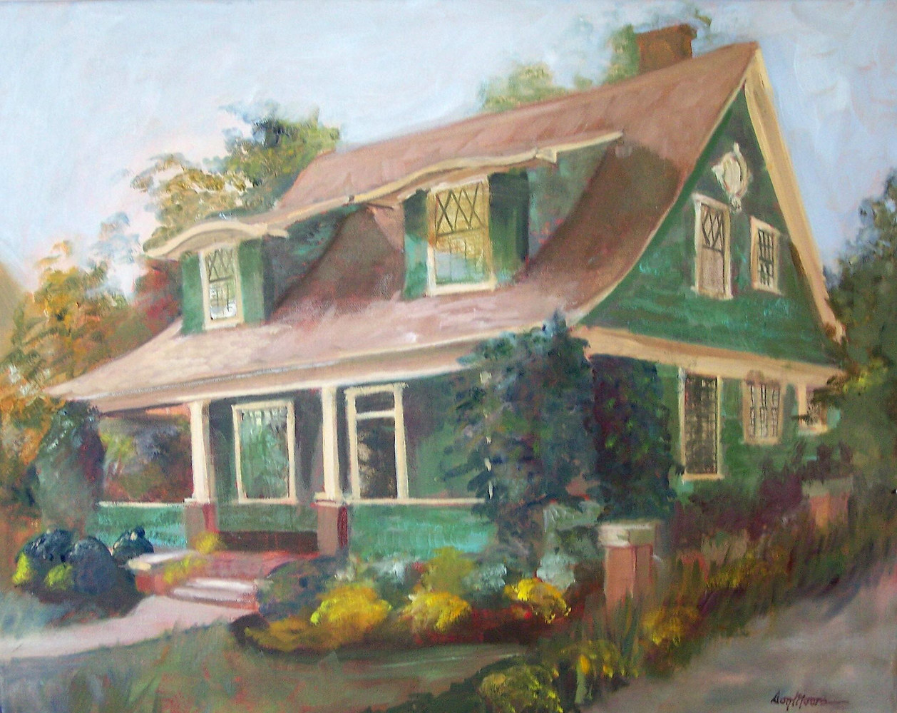 Bungalow - 16 x 20 by Don Moore
