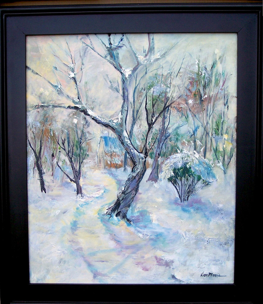 First Snow - 24 x 16 - sold by Don Moore